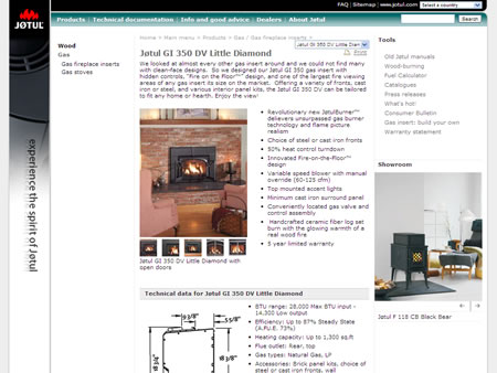 Jotul Gas Fireplaces
